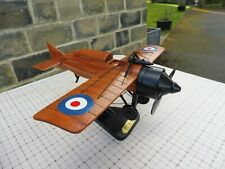 Model wooden model of WW1 aeroplane by 'Reach for the Sky' boxed condition
