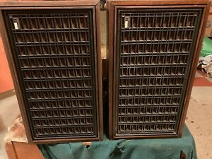 """PAIR FISHER XP-7C 12"""" SPEAKERS-4 WAY, 5 DRIVERS-30 TO 20K HZ-30 DAY WARRANTY"""