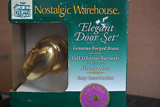 Dummy Set Brass Rose Nostalgic Warehouse #703232 Clahom Vn22 S6406