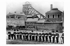 pt3942 - Soldiers at Orgreave Colliery 1893 , Yorkshire - photo 6x4