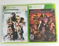 Lot of 2 Dead Or Alive 4 & Dead or Alive 5 Microsoft Xbox 360 Game Complete