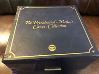 The Presidential Medals Cover Collection - 40 card Set thru Reagan