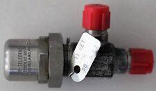 Überdruckventil, einstellbar 5 > 8 bar, Kraftstoff,NW8, Motorsport, Alu, neu