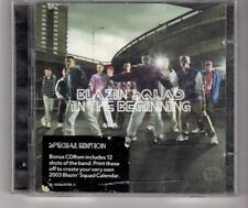 (HM810) Blazin' Squad, In The Beginning - 2002 double CD
