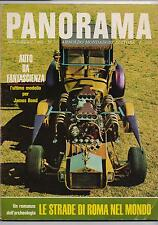 PANORAMA 50  1966 jomo kenyatta moda d'argento strade romane centenari batmobile