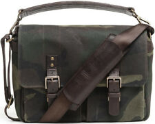 ONA - The Prince Street (Camouflage Waxed Canvas) Camo DSLR Camera and Lens Bag