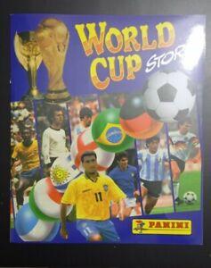 Empty album Panini World Cup Story 1998 Edition