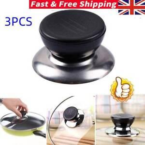 5Pcs//set Replacement Knob Handle For Glass Lid Pot Pan Cover CookwaODDE