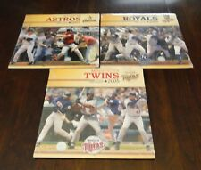 Sport Calendars Team - 2005 - 3 Teams - Astros Royals Twins - Baseball - Sealed
