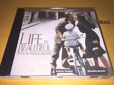 LIFE IS BEAUTIFUL soundtrack CD nicola PIOVANI (la vita e bella) roberto benigni