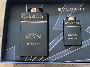 Bvlgari Man In Black Eau De Perfume Gift Set 100 Ml And 15 Ml Bnib Genuine