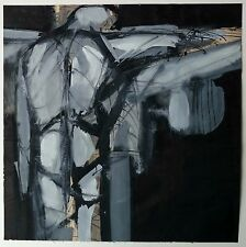 Francis Hines New York Abstract Expressionist NY MCM Wrapped Figure Painting No2