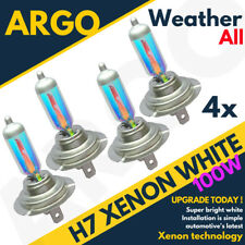 4 X Vw Passat B6 4.0 H7 100w Super All Weather White Xenon Hid Main Dip Bulbs
