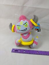 "Pokemon Plush Hoopa Confined OFFICIALLY LICENSED TOMY 8"" Plush Stuffed Toy NWT"