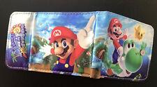 Super Mario Sunshine Wallet Purse Mens Kids Yoshi Nintendo Gamecube Wii 3DS *OZ*