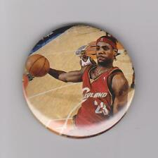"LeBron James Cleveland Cavaliers Miami Heat 2 1/4"" Button #5"