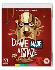 Dave Made a Maze Blu-ray 2017 Cult Hpster Comedy Classic Arrow Video