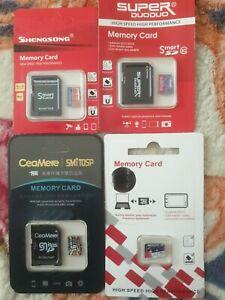 16gb micro sd card x4 brand new.