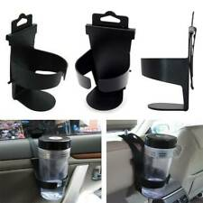 Car Back Seat Hanging Stand Cup Holder Drink Bottle Mount Stand Black Universal