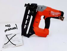 Milwaukee 2741-20 M18 FUEL 16-Gauge Straight Finish Nailer (Tool Only)