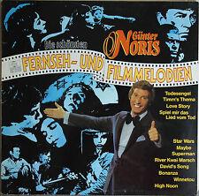 """GÜNTER NORIS """"DIE SCHÖNSTEN FERNSEH AND FILMMELODIEN""""   33T LP"""
