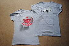 ECLIPSE TWILIGHT CULLEN CREST TEAM EDWARD LADIES SKINNY T SHIRT LARGE NEW