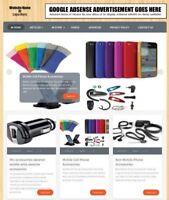 MOBILE PHONE SHOP  - Website Business For Sale - Affiliate Website Business