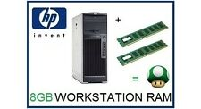 8GB (2x4GB) ECC Memory Ram Upgrade for the HP XW6200 Workstation Only