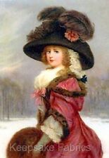 Victorian Beauty Winter Stroll Quilt Block Multi Sizes FrEE ShiP WoRld WiDe