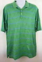 Donald Trump Polo Shirt Pima Cotton Double Mercerized Multi Palm Trees Medium