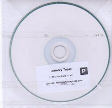 (DV222) Memory Tapes, Thru The Field - DJ CD