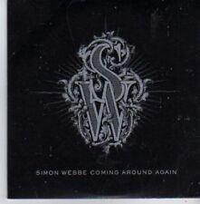 (AQ449) Simon Webbe, Coming Around Again - DJ CD