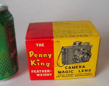 VTG THE PENNY KING Featherweight MAGIC LENS CAMERA circa 1950's