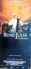 locandina playbill CINEMA BEING JULIA LA DIVA ANNETTE BENING JEREMY IRONS