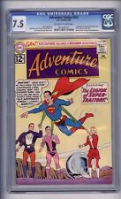 CGC (D.C) ADVENTURE COMICS 293 VF- 7.5 OF WHITE -WHITE LEGION