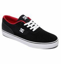 Tg 42 - Scarpe Uomo Ragazzo Skate DC Shoes Switch Black Red Sneakers Schuhe 2019