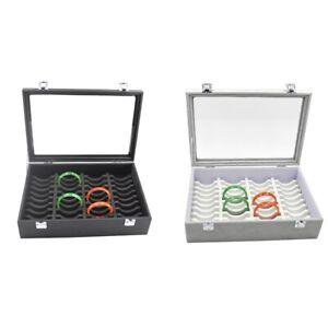New 40Pcs Jewelry Display Boxes Bracelet Holder Ornament Rack Showcase Wat Y6R8