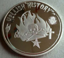 Rare Secret Society Member Coin Occult Jack Ripper Zodiac Illuminati Killer 666