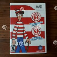 WHERES WALDO THE FANTASTIC JOURNEY  (  Nintendo Wii  )  Tested and Working