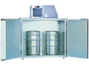 Drum pre-cooler galvanized sheet steel for 2 KEG drums