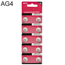 10X AG4 LR626 377 SR626 177 1.5V Alkaline Button Coin Cell Watch Battery Sightly