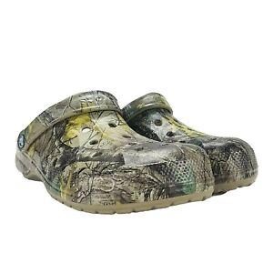 Crocs Baya Realtree xtra clog camo Slip On Men's 9 / Women's 11 206517-260