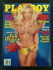 Vintage PLAYBOY Magazine July 2000 Jaime Bergman George Clooney Interview!