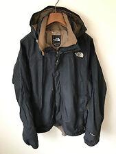 The North Face Abrigo/Chaqueta! Mens M/L! Negro! 44-46 en el pecho! HyVent! Impermeable!