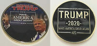 Donald Trump 2020 Gold Coin Re election Day US President White House Americana