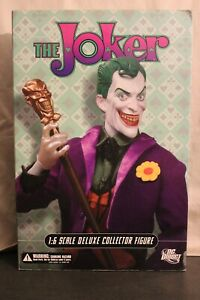 """DC Direct DC Comics THE JOKER Deluxe Collector 13"""" 1/6th Sixth Scale Figure"""
