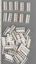 LEGO x 50 White Fence 1 x 4 x 1 NEW bulk lot City Town