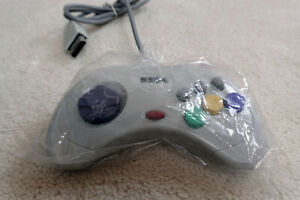 Sega Saturn Controller Japanese White Wired Unboxed (NOS)
