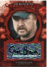 Supernatural Connections Autograph Card  A-6 Jim Beaver as Bobby Singer