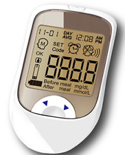 Glucose Monitor Blood Glucose Meter Monitoring System TRANSCARE 6.1